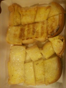 Mont: toast with condensed milk